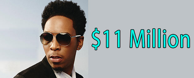 Net worth of Deitrick Haddon is around $11 Million