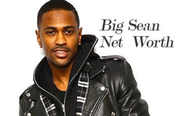 Image of Big Sean Net Worth
