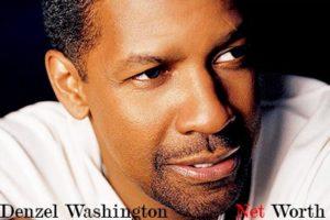 Image of Denzel Washington Net Worth