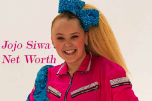 Image of Jojo Siwa Net Worth