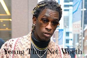 Image of Young Thug Net Worth