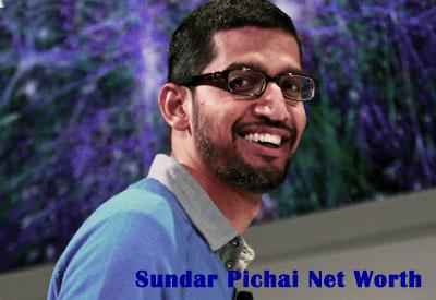 Sundar Pichai Net Worth