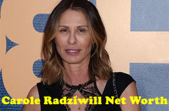 Carole Radziwill Net Worth