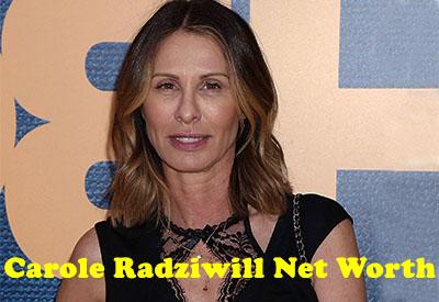 Carole Radziwill Net Worth