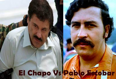 El Chapo Vs. Pablo Escobar Net Worth