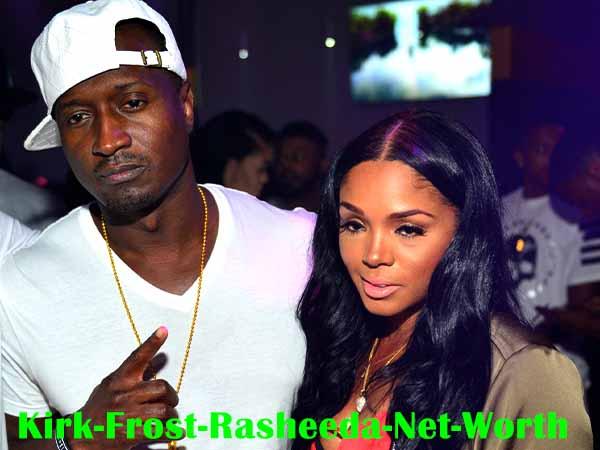 Rasheeda with Husband Kirk Frost