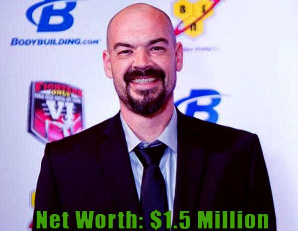 Image of TV Personality, Aaron Goodwin net worth is $1.5 million