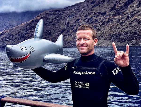 Image of Andy Casagrande from the TV program, Shark Week