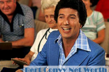 Bert Convy Net Worth