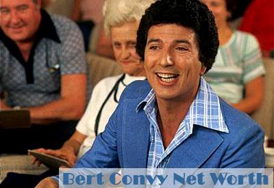 Bert Convy Net Worth