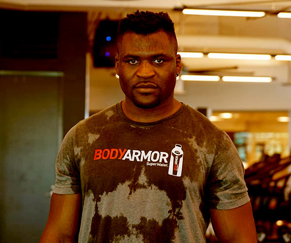 Image of Francis Mgannou is neither married nor dating