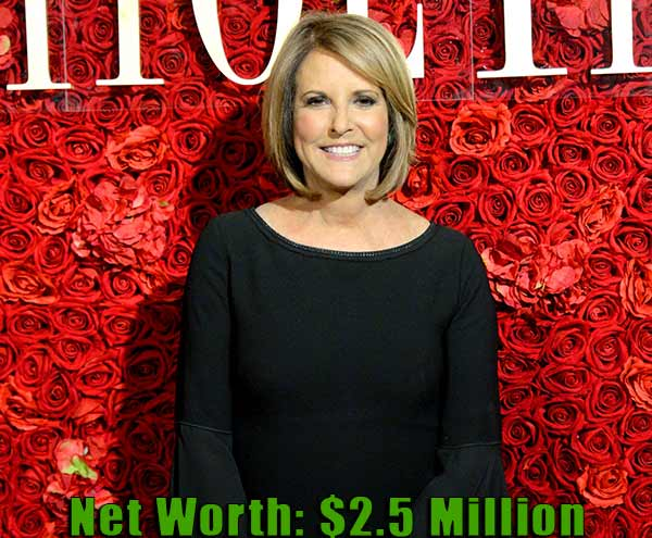 Image of Journalist, Gloria Borger net worth is $2.5 million