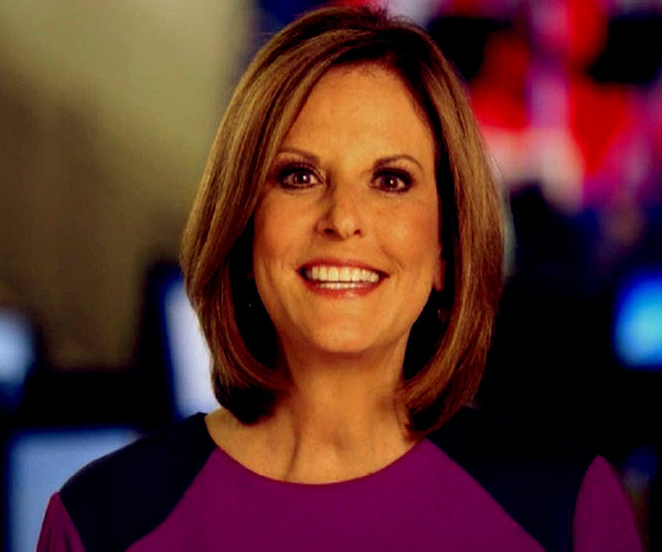 Image of Gloria Borger from the TV programme, Face the Nation