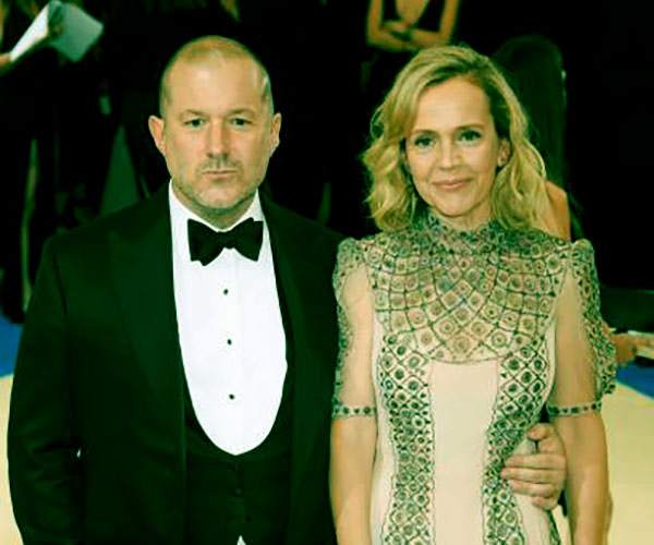 Image of Jony Ive with his wife Heather Pegg Ive