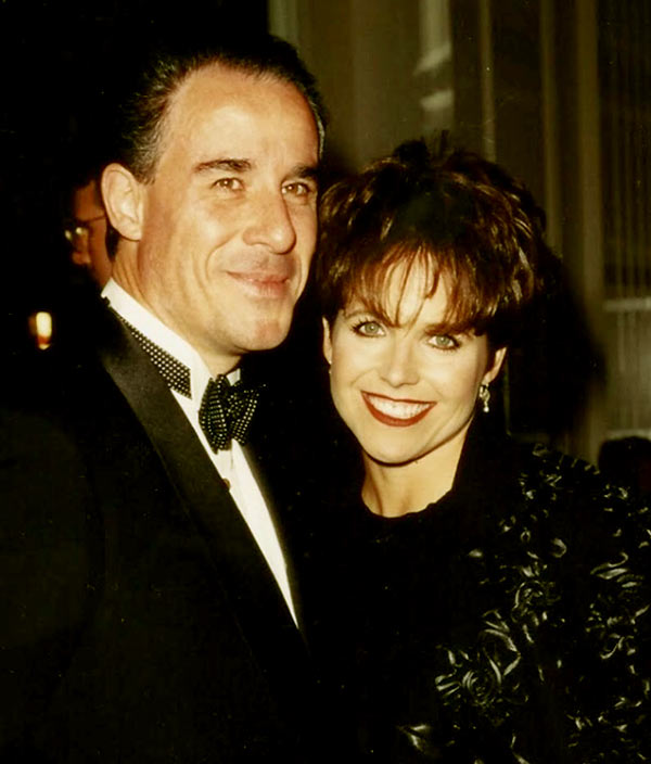 Image of Katie Couric with her first husband Jay Monahan