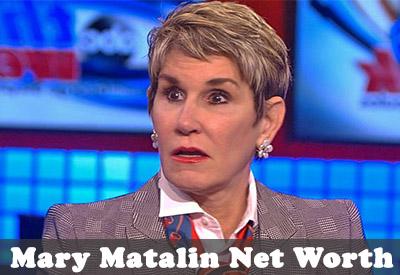 Mary Matalin Net Worth