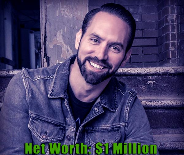 Image of TV Personality, Nick Groff net worth is $1 million