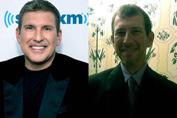Image of Todd Chrisley and his brother Randy Chisley