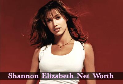 Shannon Elizabeth Net Worth