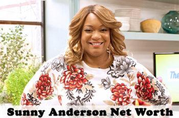 Sunny Anderson Net Worth