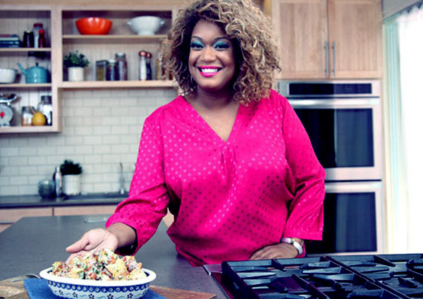 Image of Sunny Anderson from the TV program, Cooking for Real