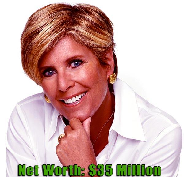Image of Motivational speaker, Suze Orman net worth is $35 million