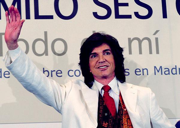 Image of Spanish singer, Camilo Sesto