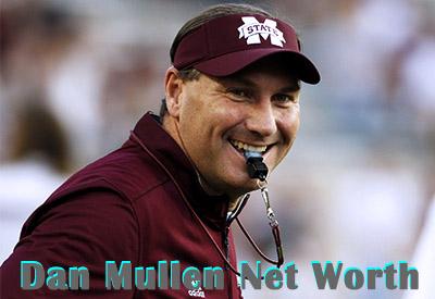Dan Mullen Net Worth