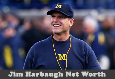 Jim Harbaugh Net Worth