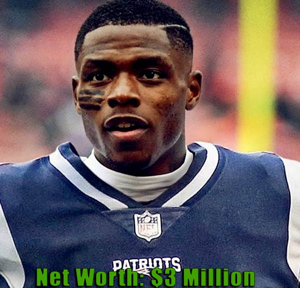 Image of American football player, Josh Gordon net worth is $3 million