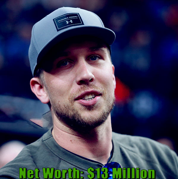 Image of American football quarterback, Nick Foles net worth is $13 million