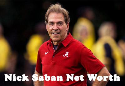 Nick Saban Net Worth