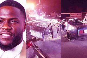 Image of Kevin Hart Car Accident, Crash, Injury Update. Is He Paralyzed