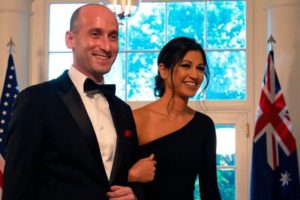 Image of Stephen Miller and Girlfriend Katie Waldman