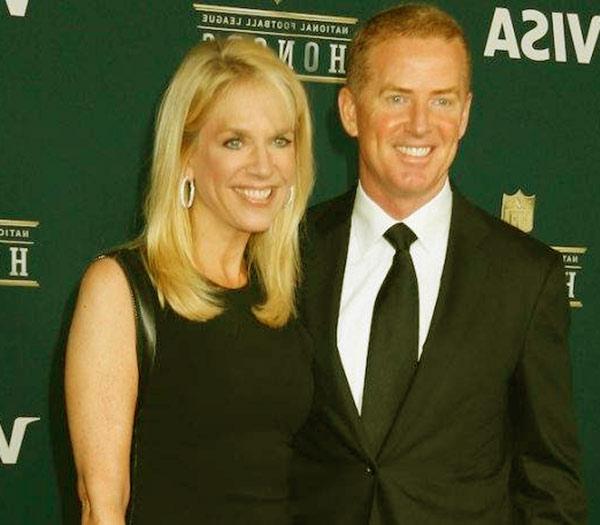 Image of Jason Garrett with his wife Brill Garrett