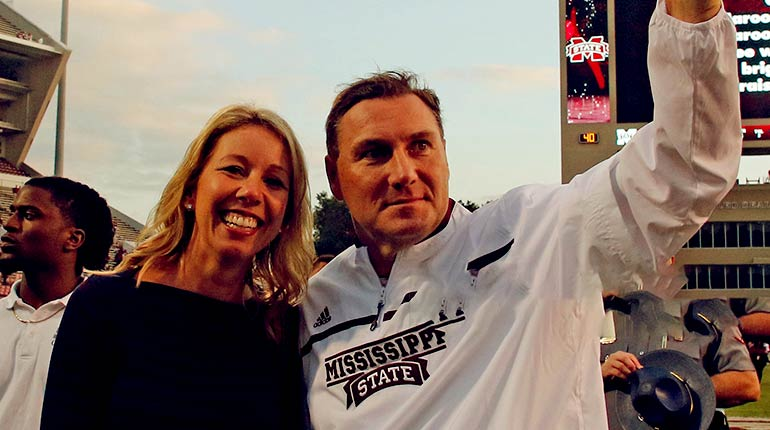 Image of Dan Mullen Wife Megan Mullen Biography.
