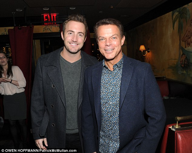 Image of Shepard Smith with his Partner Giovanni Graziano.