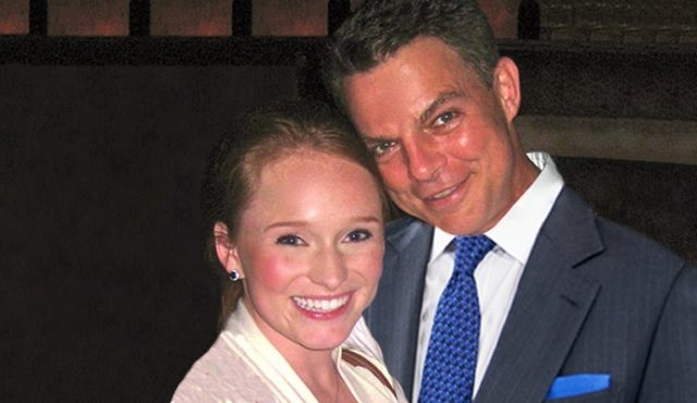Image of Shepard Smith with his ex-wife Virginia Donald