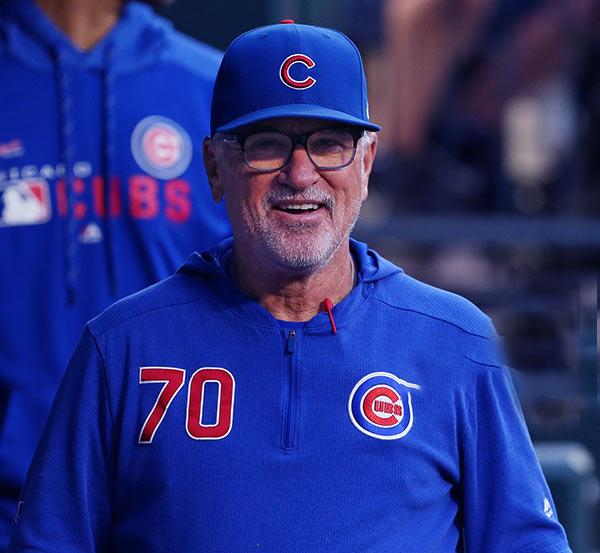 Image of Profession baseball manager of the Los Angeles Angels, Joe Maddon