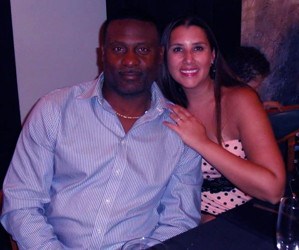 Image of Antonio Brown father Eddie Brown and mother Adrianne Moss