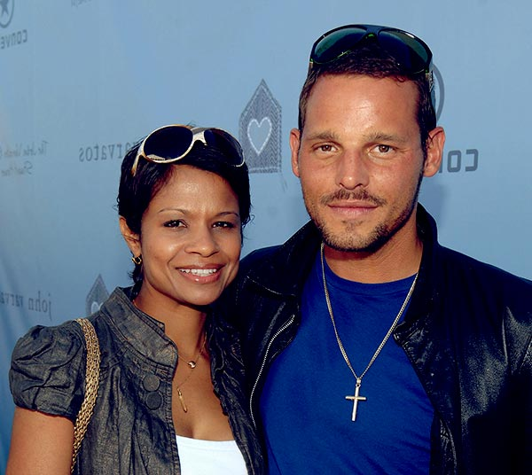 Image of Keisha Chambers and her husband Justin Chambers
