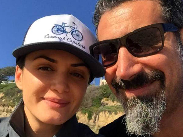 Serj Tankian And His Wife Angela Madatyan