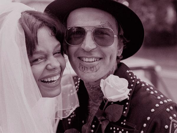 yelawolf and his wife fefe dobson