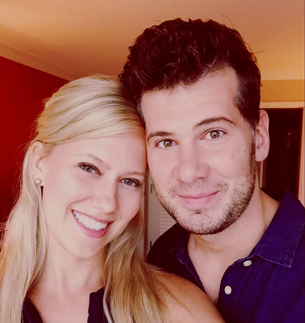 Image of Hilary Korzon with her husband Steven Crowder