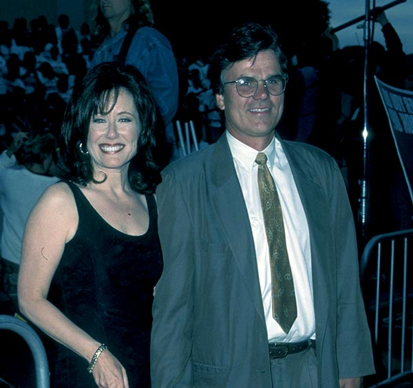 Image of Mary McDonnell with her husband Randle Mell